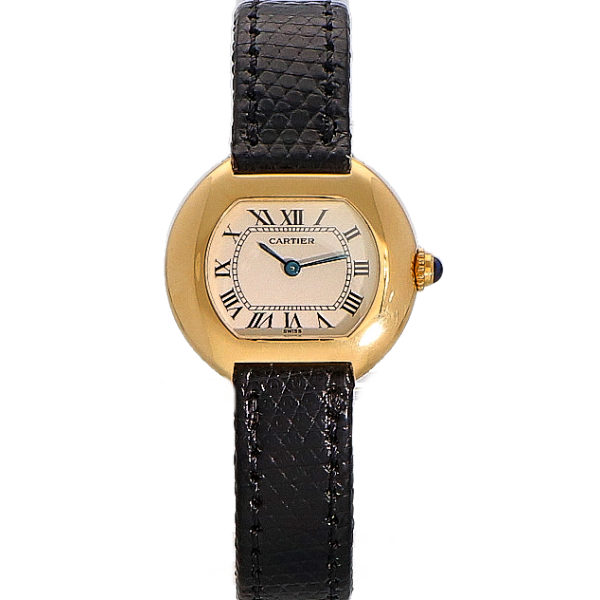 Cartier Ellipse 18K